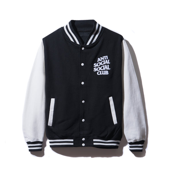 Dropout White/Black Letterman