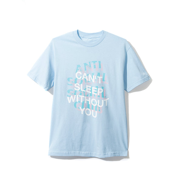 Back Pain Baby Blue Tee