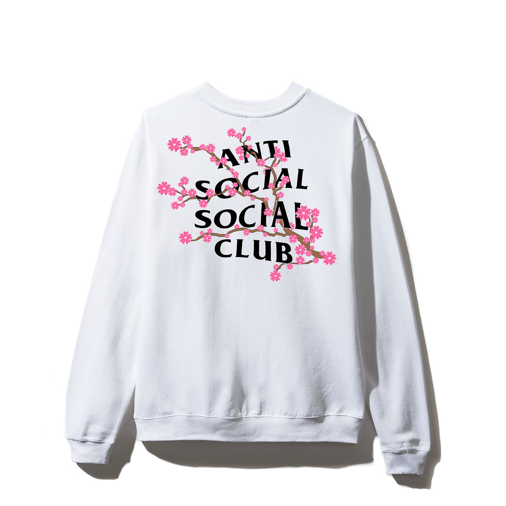 Cherry BLossum White Crewneck