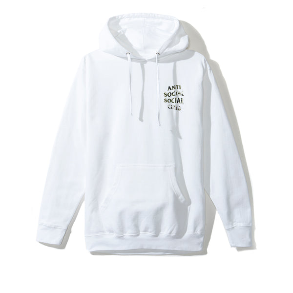 Woody White Hoody