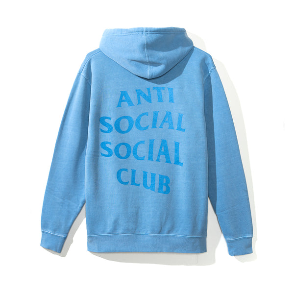 Ghosted Light Blue Tonal Hoody