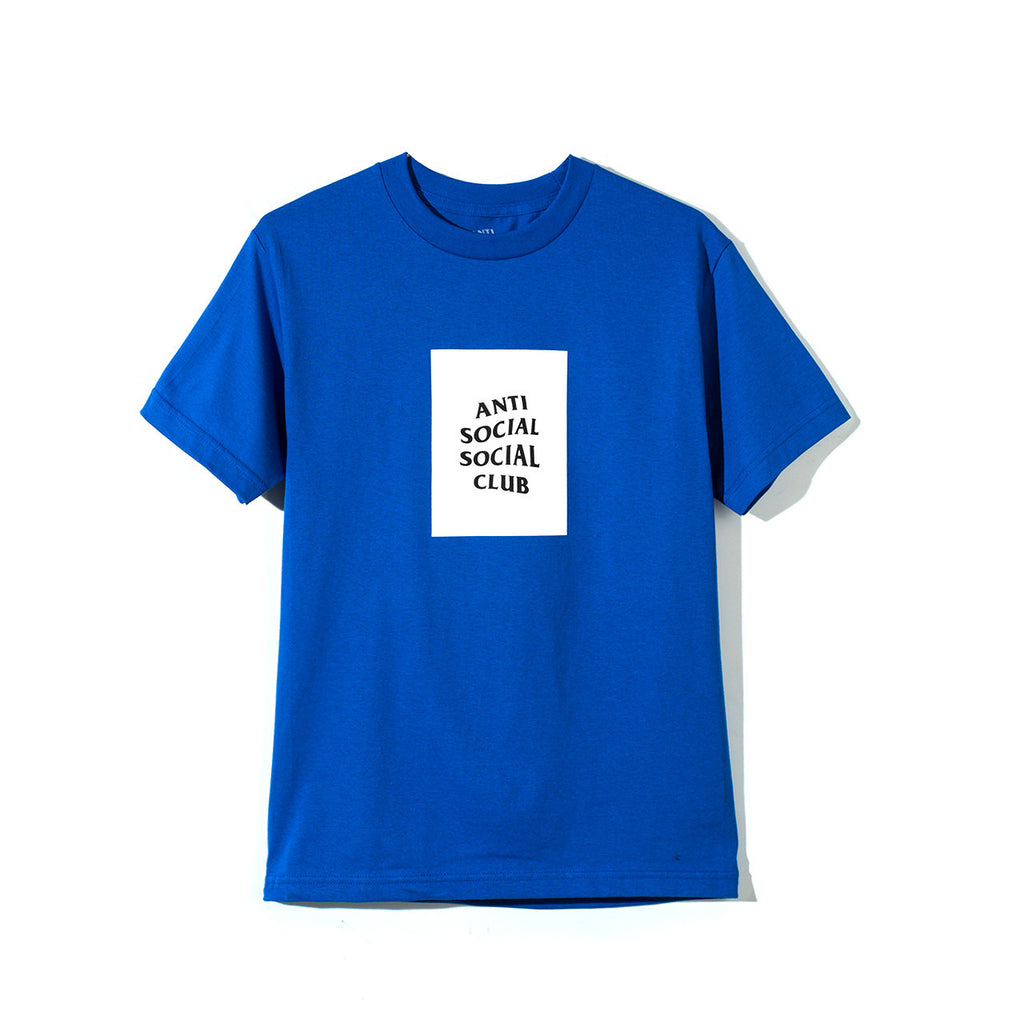 THE CLUB TEE ROYAL BLUE