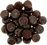 6mm 2-hole cabochons