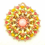 Mini Bead kit - Chrysanthemum Pendant