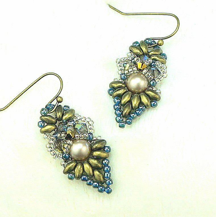 Mini Bead Kit - Fanfare Earrings