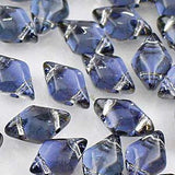 GemDuos - 8x5mm 2-hole diamonds