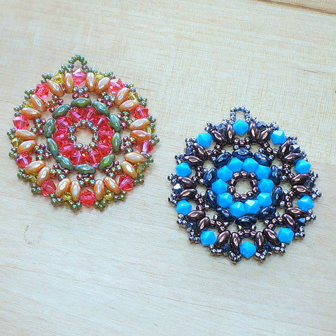 Mini bead kit - Kaleidoscope Pendant