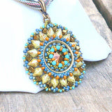 Radiant Sunflower Pendant Kit