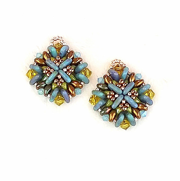 mini bead kit - regalia earrings