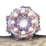 Mini Bead Kit - Scalloped Wreath Pendant