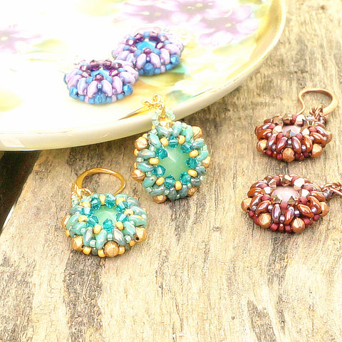 mini bead kit - Shimmer on the Bay Earring Kit