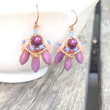 mini bead kit - tripoli earrings