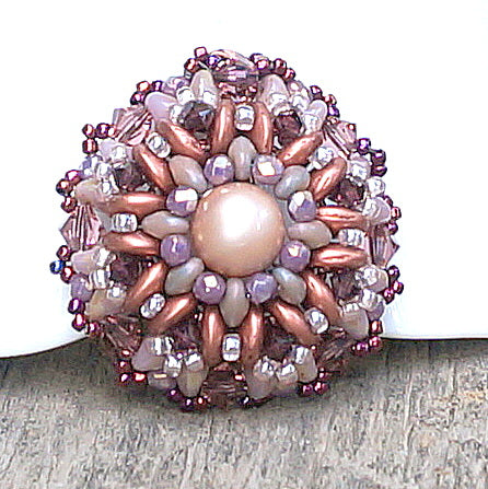 mini bead kit - pincushion pendant