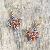 Mini bead kit - Star Jasmine Earrings