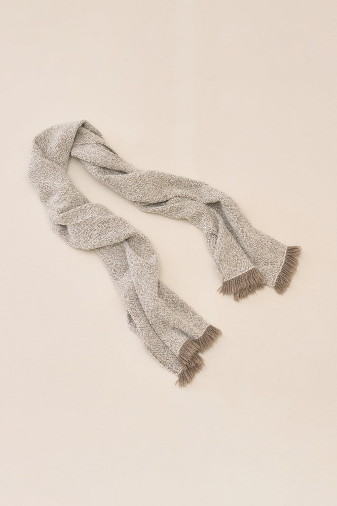 HANDWOVEN BOUCLE WRAP - hover image