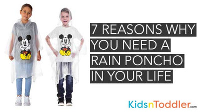 7 Reasons Why You Need a Rain Poncho in Your Life