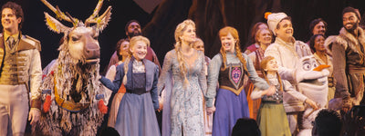8 Tips on Taking Your Kids to Frozen The Musical on Broadway