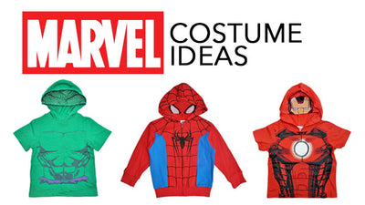 Iron Man, Hulk, Spider-Man and Captain America Costumes for Kids