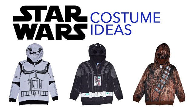 DIY Star Wars Character Costumes for Kids