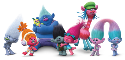 Get to Know the Characters from Dreamworks Trolls