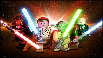 Get your kids excited for bed time with Lego Star Wars