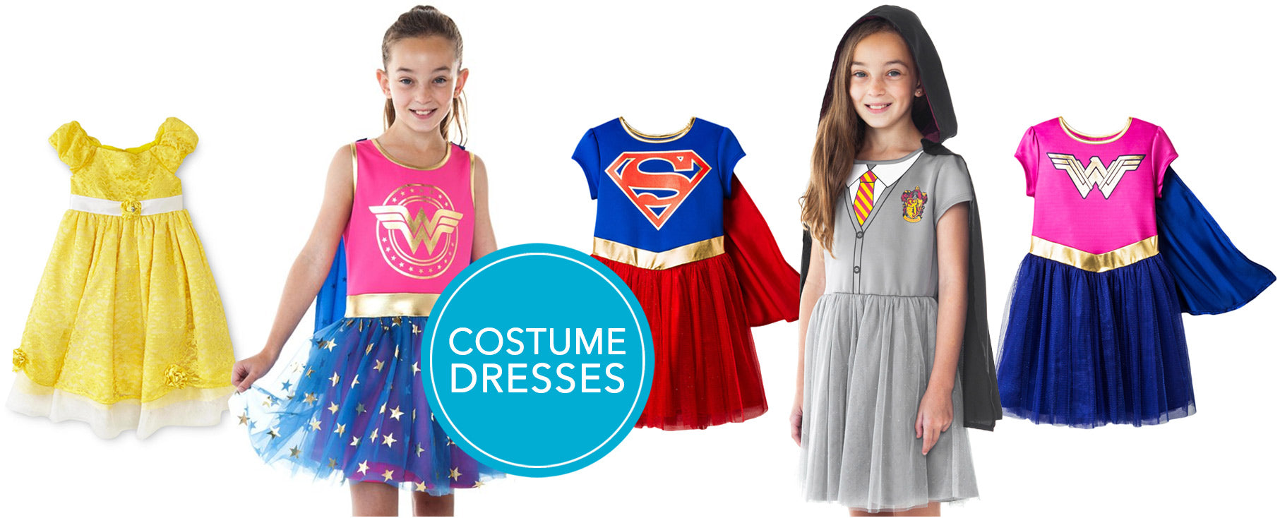 Halloween Costume Dresses for Toddlers and Girls