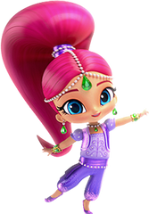 Nickelodeon Girls Shimmer and Shine 2 Piece Hoodie and Legging Set