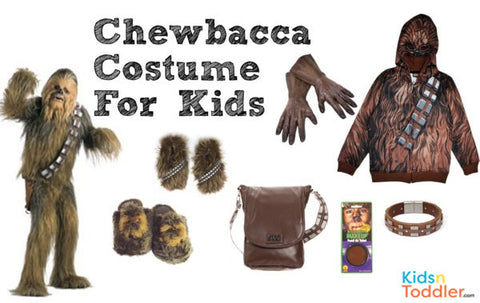 Chewbacca Easy costume for Kids DIY