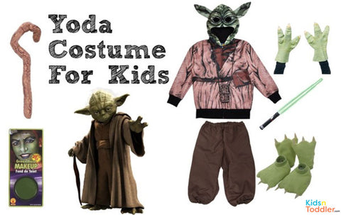 DIY Yoda Costume for Kids