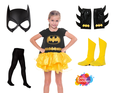 Batgirl with accessories