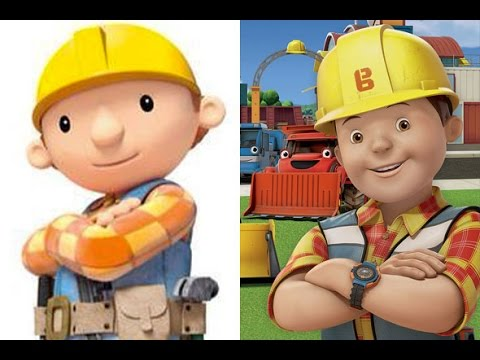 Bob the Builder Old vs New