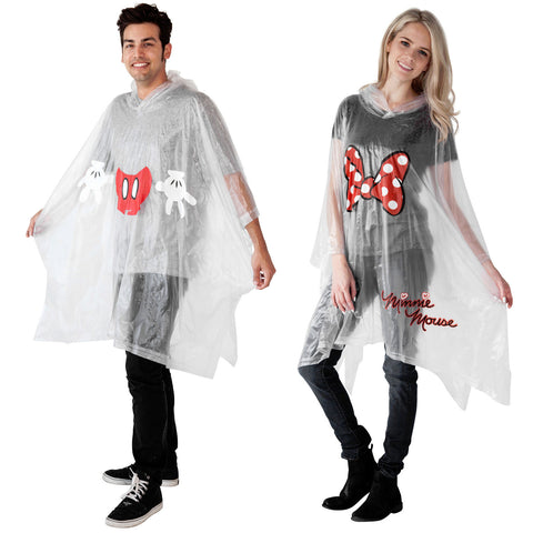 Mickey and Minnie Poncho