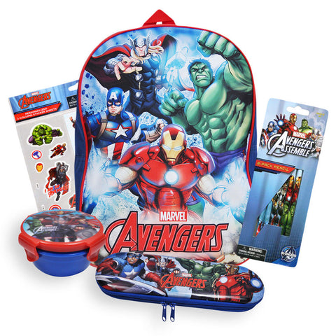 Avengers Backpack and Supplies