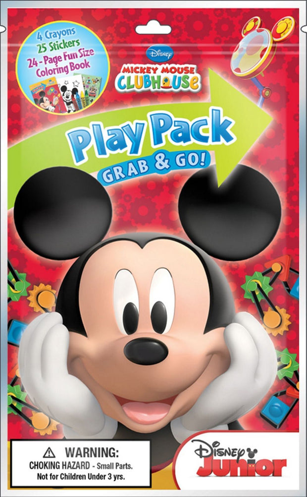 Party Favor Mickey Mouse Clubhouse Grab and Go Play Pack 10ct