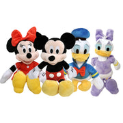 "Mickey Minnie Daisy Donald 11"" Plush Toy 4 Piece Gift Set"