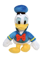 "Disney 11"" Donald Duck Toy Plush Doll w/ Sling Bag 2 Piece Set"