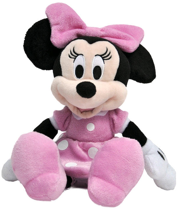 "Disney Minnie Mouse 11"" Plush Doll with Reusable Gift Tote Bag 2 Pcs"