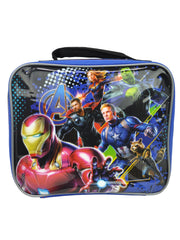 Marvel Avengers Endgame Insulated Lunch Bag Iron Man w/ 2Pc Snack Container Set