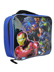 Avengers Boys Insulated Lunch Bag Iron Man Thor Captain America Captain Marvel