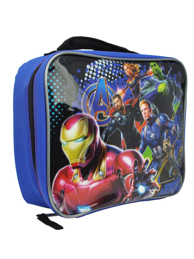 Marvel Avengers Endgame Insulated Lunch Bag Iron Man Captain Marvel Hulk Thor