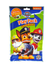 Paw Patrol Kids Play Pack Grab & Go Party Favor Crayons Stickers Coloring Book