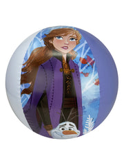 Disney Frozen II Beach Towel & Beach Ball 2PC Set Anna Elsa Olaf Kristoff Sven