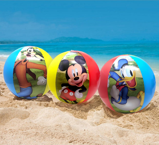 Mickey Mouse & Friends Inflatable Beach Ball 3 Pack