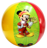 Mickey and Friends Fireworks July 4th Beach Towel 58x28 & Beach Ball 2Pcs
