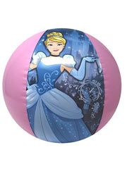 Girls Disney Princesses Beach Towel 58x28 & Beach Ball 2-Piece Set