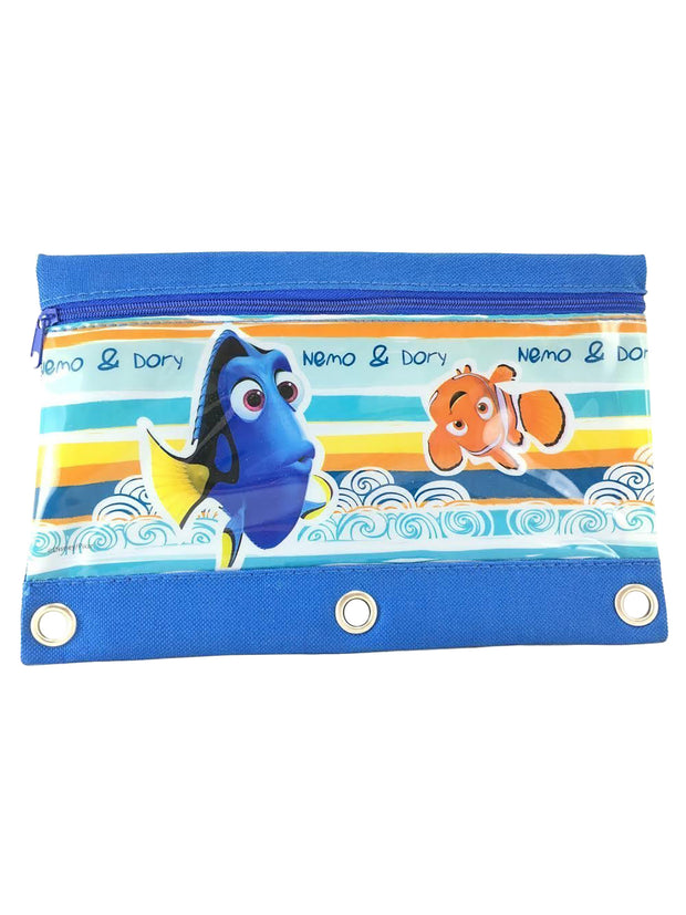 Finding Dory Nemo 3-Ring Pencil Pouch Holder (Style May Vary)