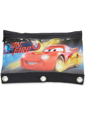 Cars Lightning McQueen 3-Ring Pencil Pouch Holder