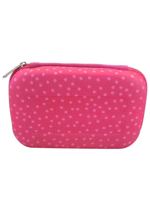 Girls L.O.L. Surprise! Hard 3D Molded Pencil Case Zipper Pink Fresh and Fancy