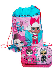LOL Surprise! Hard 3D Molded Pencil Case & Dolls Sling Bag 2-Piece Set