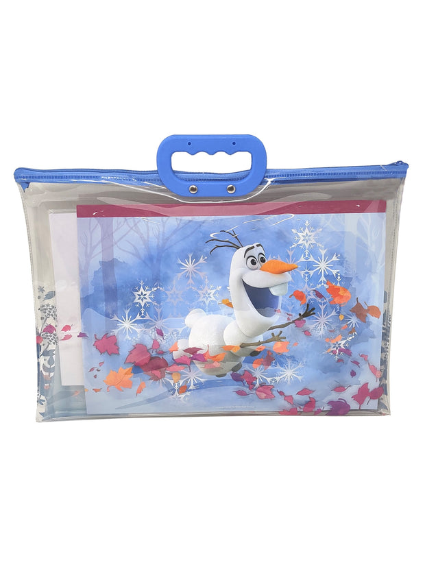 Frozen 2 12-Piece Markers Coloring Book Tote Bag & Paint Stickers